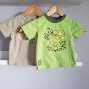 Mini Boots/Baby Boots Nature T-shirt Lot